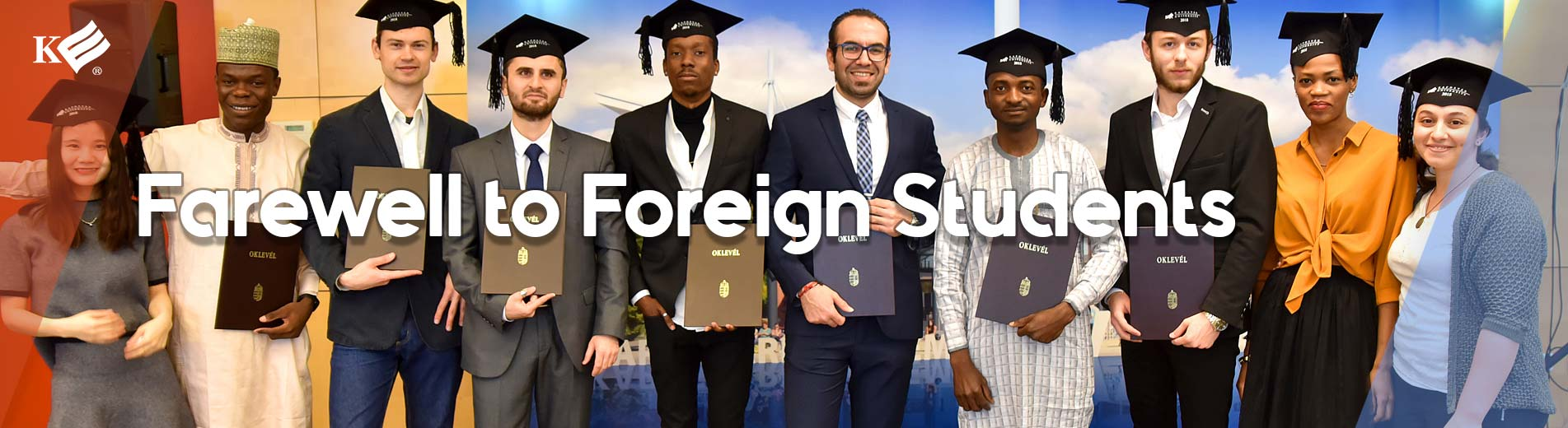 Farewell to Foreign Students
